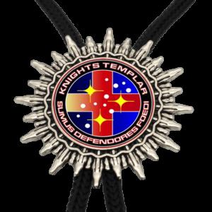 Collier de chevalier des templiers du Moyen Âge