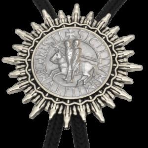 Collier de cou du Moyen Âge chevalier templier