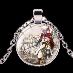 Combat de chevalier de l'ordre du saint sépulcre
