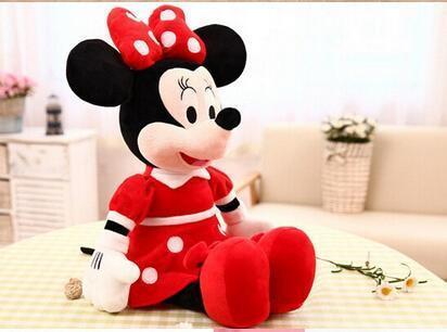 1 Pcs 40 cm Vente Chaude Belle Mickey Mouse Et Minnie Mouse En Peluche Douce Peluche 1 c072bf4b 5baa 4052 9c67 7dc1487fe383 Peluche Mickey Et Minnie Mouse 40Cm (3 Couleurs) - Livraison Gratuite !