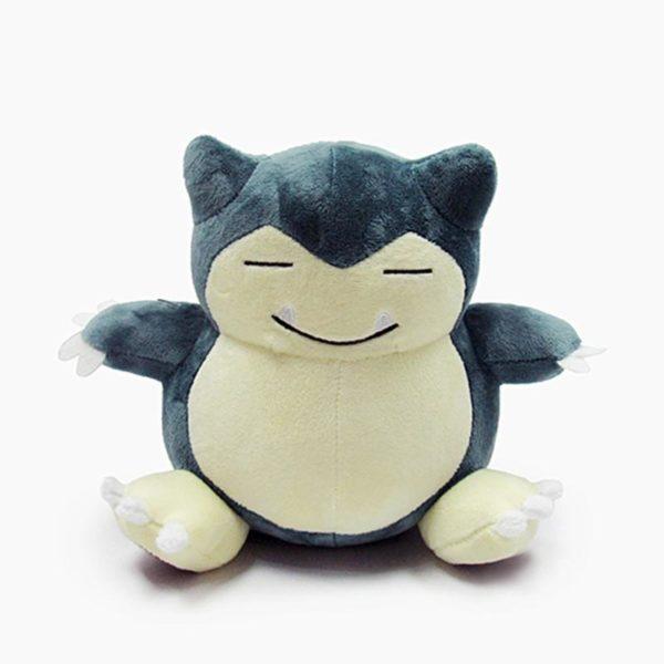 1 pc 20 cm pokemon peluche snorlax animal en peluche enfants jouets Snorlax peluche jouet grand 1 Peluche Snorlax (20 Cm) Pokemon Go - Livraison Gratuite !