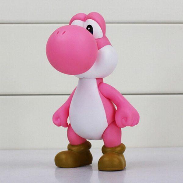 1 pcs 12 cm Super Mario Bros Le Dinosaure Yoshi Action PVC Figure Toy Collection Modele 4 aac12074 8643 47f7 abb4 124dcfbe6aec Figurine Yoshi 12 Cm Super Mario Bros. (5 Couleurs) - Livraison Gratuite