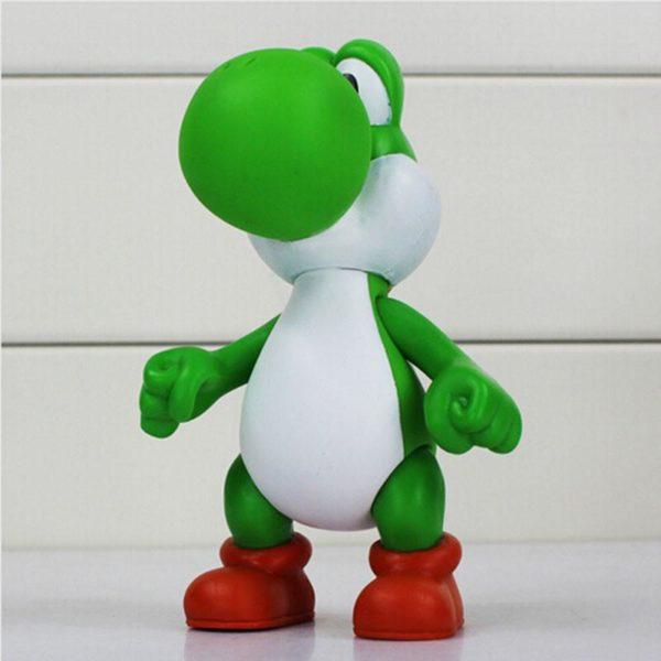 1 pcs 12 cm Super Mario Bros Le Dinosaure Yoshi Action PVC Figure Toy Collection Modele aa2d1064 8c2a 48bb 9db9 cd1785ba1e2e Figurine Yoshi 12 Cm Super Mario Bros. (5 Couleurs) - Livraison Gratuite