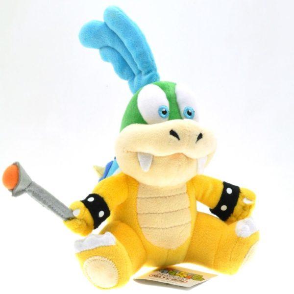 1 pcs 16 cm Super Mario Bros Larry Koopa Peluche Jouets Poup eacute Peluche Larry (Koopa - 16 Cm) Super Mario Bros. - Livraison Gratuite !