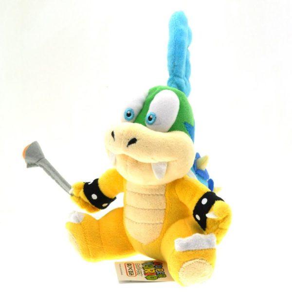 1 pcs 16 cm Super Mario Bros Larry Koopa Peluche Jouets Poup eacute 1 Peluche Larry (Koopa - 16 Cm) Super Mario Bros. - Livraison Gratuite !