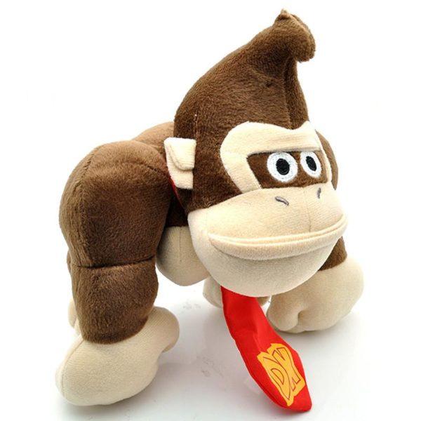 10 Super Mario Bros En Peluche S eacute Peluche Donkey Kong (26 Cm) Super Mario Bros. - Livraison Gratuite !