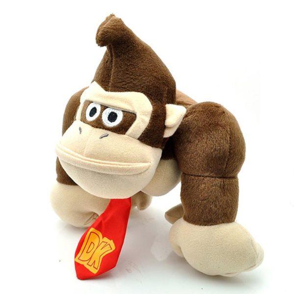 10 Super Mario Bros En Peluche S eacute 1 Peluche Donkey Kong (26 Cm) Super Mario Bros. - Livraison Gratuite !