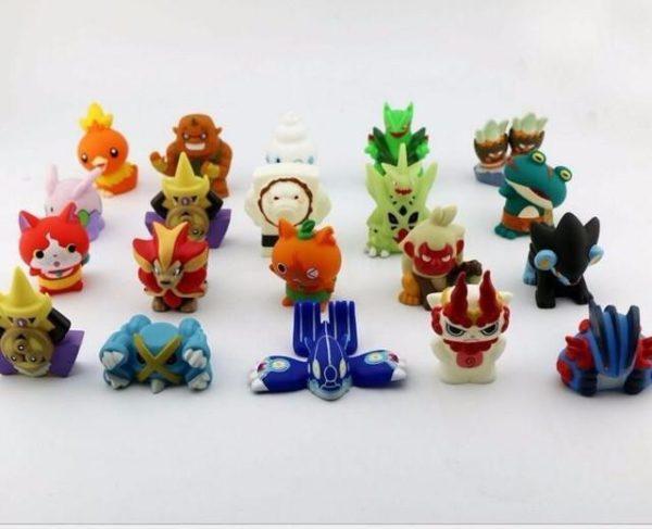 10 pcs lot Japonais Anime Yo Kai Montre Yokai Youkai 4 5 CM Action PVC Chiffres.jpg 640x640 8e014b5b 0c19 4e12 b643 d38ce90d1f77 1 Lot De 10 Figurines Yo-Kai Watch - Livraison Gratuite !