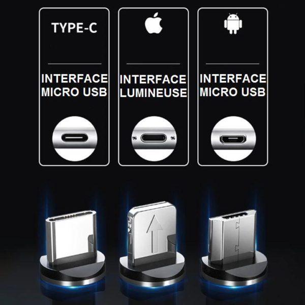 108 Chargeur Téléphone Magnétique Streamer