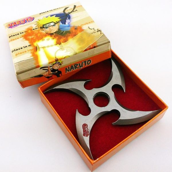 11 cm Naruto eacute Arme Shuriken Fuhma Rotatable (3 Couleurs) Cosplay Naruto - Livraison Gratuite !
