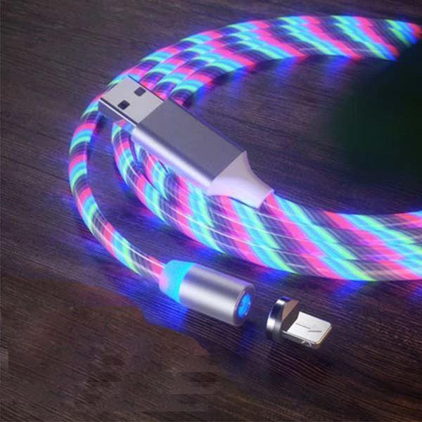 Câble USB Magnétique Streamer Raton Malin Multicolore Type C
