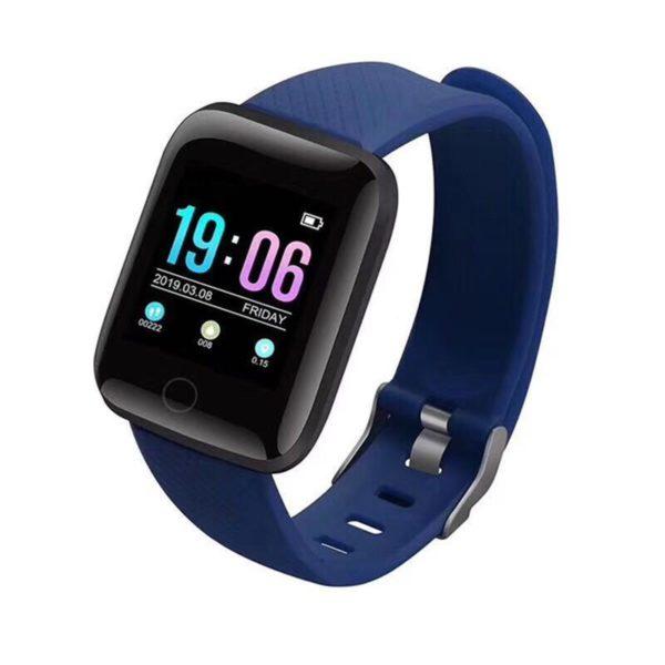 Montre Fitness Intelligente Flash Ventes Bleu