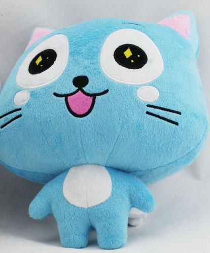 12 30 cm Japonais Anime Fairy Tail Heureux En Peluche Jouet Bleu Heureux Cat Doux en 87dc76bf 18a6 456f a048 27caacd5e136 Peluche Fairy Tail Happy Cat 30 Cm (2 Couleurs) - Livraison Gratuite !