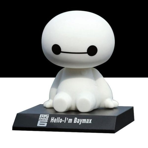 12 cm Big Hero 6 Baymax Action Figure Jouet bande dessinee Mignon Robot Secouant La Tete.jpg 640x640 1a9d0ca9 3466 40d9 a2e1 78950e97eb44 Figurine Baymax Big Hero 6 Tête Branlante - Livraison Gratuite !