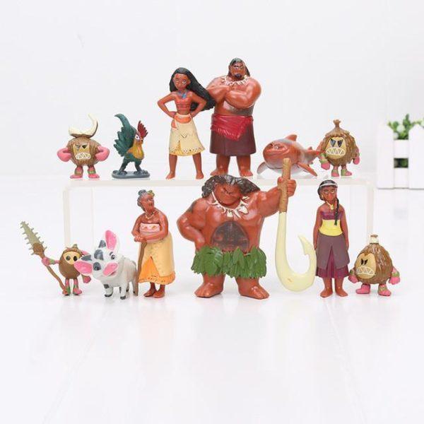 12 pcs lot Moana Maui Chef Tui Sina PVC Figurines Gramma Tala Heihei Statue Anime Figurines.jpg 640x640 dd18828b cf93 40af 80e3 21ea9107ce83 1 Lot De 12 Figurines Collections Moana - Livraison Gratuite !