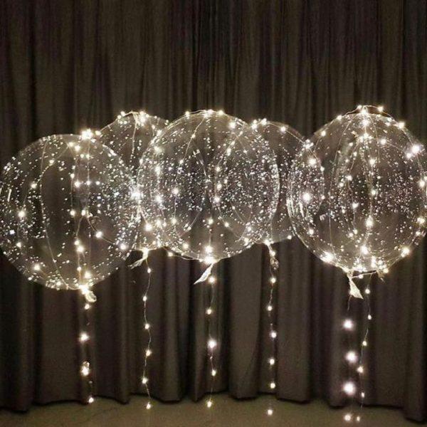 12 0985901a 3a60 4f6e a0ec a723c05e9925 Ballons Led Lumineux Transparents