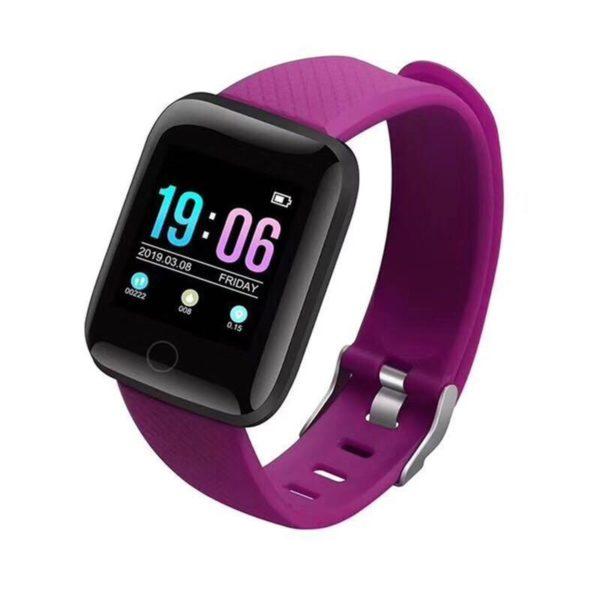 Montre Fitness Intelligente Flash Ventes Violet