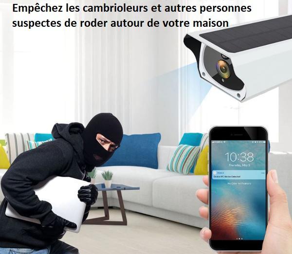 12 58f9db30 9b62 4464 9ea2 b0c70e6e4d82 Caméra De Surveillance Sans Fil Solaire Camesafe™