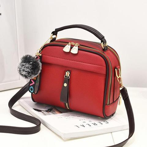 Sac ALL YOU NEED IS LOVE Minute Mode Rouge