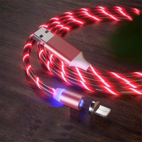 Câble USB Magnétique Streamer Raton Malin Rouge Type C