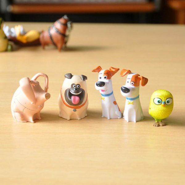 14 pcs lot PVC La Vie Secr egrave 1 Lot De 14 Figurines The Secret Life Of Pets - Livraison Gratuite !