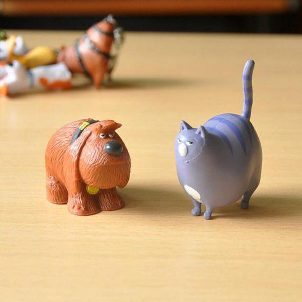 14 pcs lot PVC La Vie Secr egrave 2 1 Lot De 14 Figurines The Secret Life Of Pets - Livraison Gratuite !