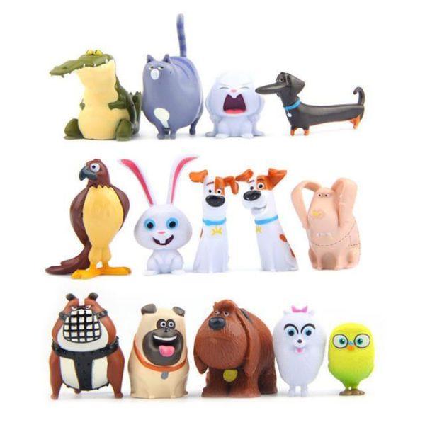 14 pcs lot PVC La Vie Secrete de Animaux Boule De Neige Gidget Mel Max Duc.jpg 640x640 ab72f26e 62d0 4664 876f 01365d1e3ffd 1 Lot De 14 Figurines The Secret Life Of Pets - Livraison Gratuite !