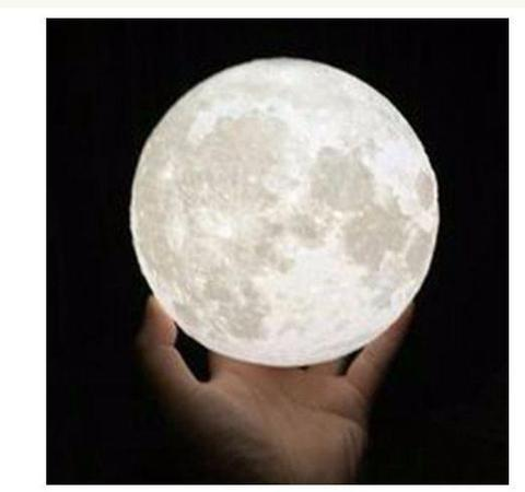 Lampe Luna MOON Enchanteresse raton-malin 18cm