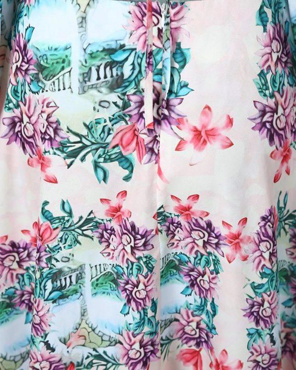 14 4c1f2ffb ae1e 4e2d 9b27 1839e76138de Robe Longue Fendue Imprimé Floral