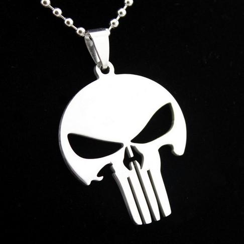 14style stainless steel Shield of Mogen David Dog Tag Bicycle super man Batman skull pendant necklace b049371f 2539 4cb6 aaef 2d8534d6dadb Collier Super-Héros Superman/Batman/Punisher - Livraison Gratuite !
