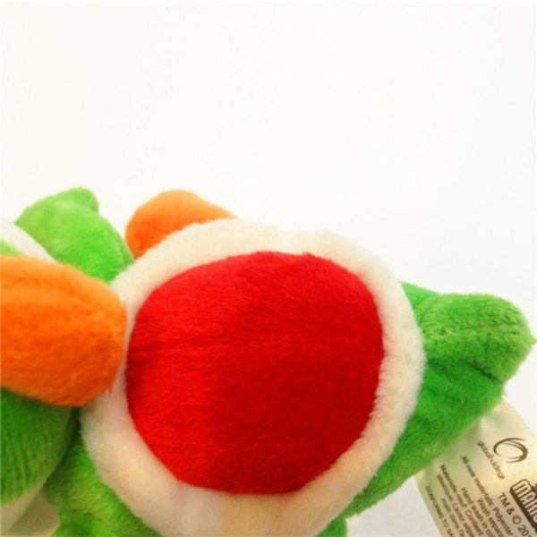 15 cm vert Yoshi Super Mario Bros poup eacute 1 Peluche Yoshi (15 Cm) Super Mario Bros. - Livraison Gratuite !