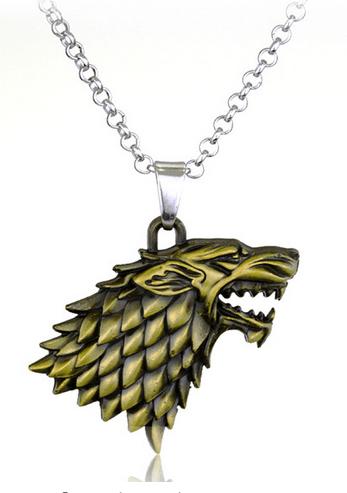 15 2f400da8 89e7 43c4 b0dc e45b7acfb925 Collier Pendentif Games Of Thrones - Maison Stark