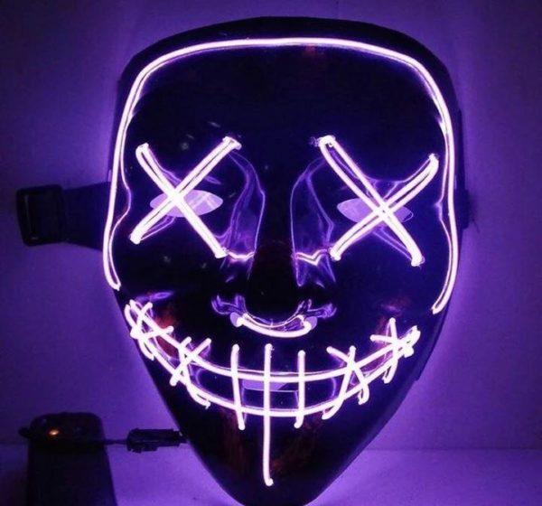 "15 675e1e85 f91b 4edd 8517 8adab7e8b62f Masque Lumineux ""The Purge"" Halloween"