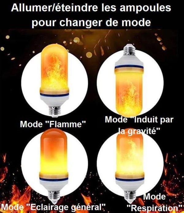 15 c74f4d77 9968 4638 bb4d 7999abac3e82 Ampoule Led Effet De Flamme Halloween