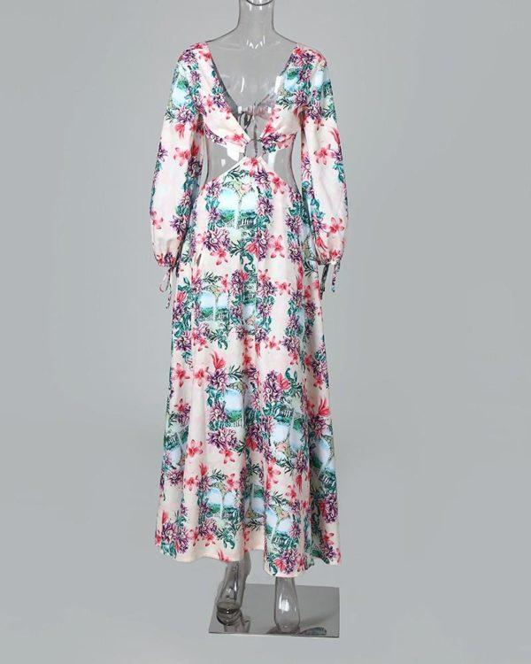 15 e40e23ee b030 4ee2 8d7e c3a045fd7e5a Robe Longue Fendue Imprimé Floral