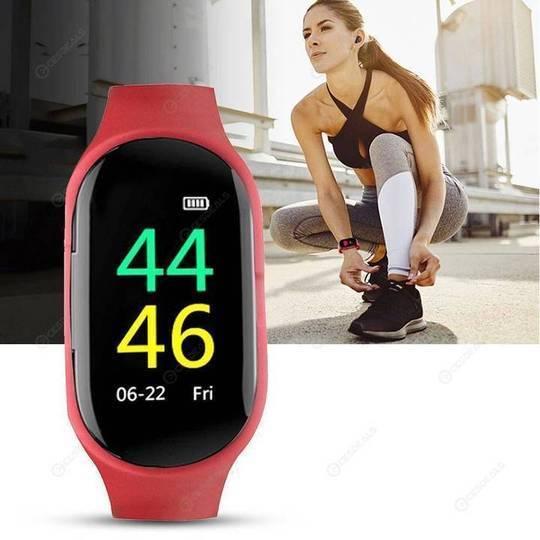 16 46c63476 49fc 43e8 a4fd 34f499ade5ec Montre Connectée Intelligente Avec Écouteurs Bluetooth