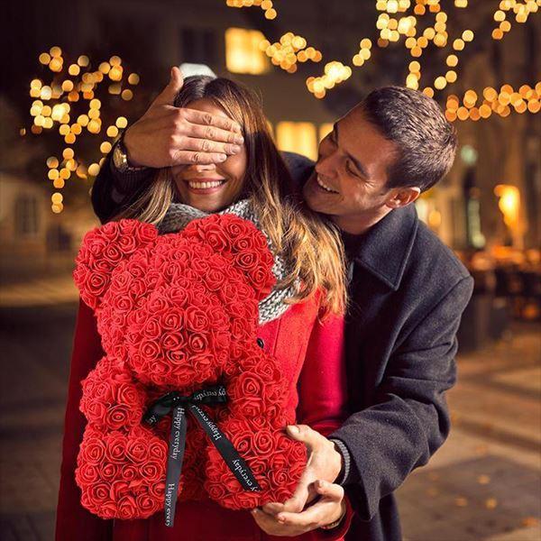 1 41669d36 0170 47d0 8e07 3eba22d9b573 Ours En Peluche Roses