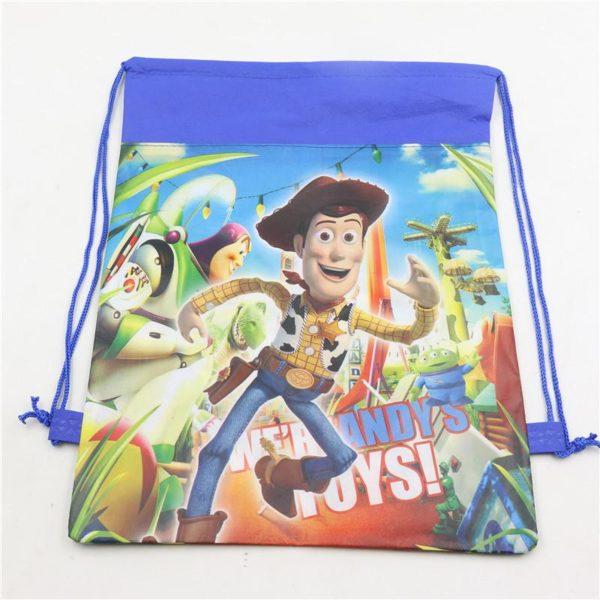 1pc lot Joyeux Anniversaire Partie Non tiss eacute Sac Bébé En Tissu Toy Story - Livraison Gratuite !