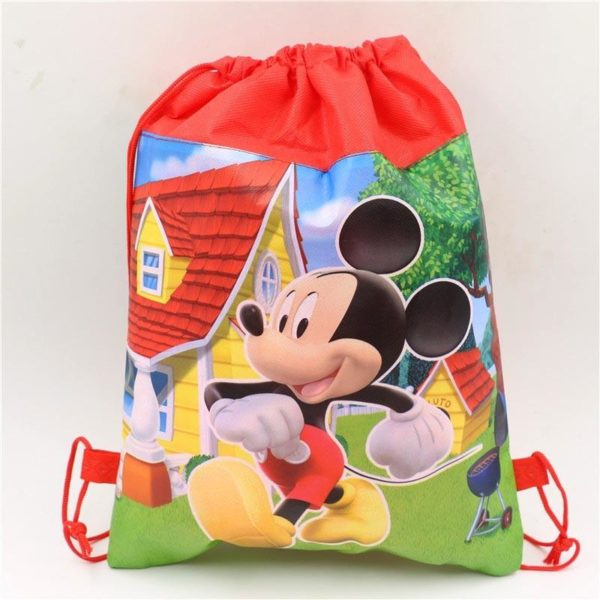 1pc lot Minnie Cadeau Sacs Mickey Enfants Favors Baby Shower Non Tisse Tissu Cordon Sac A 1 0b4f1809 2e77 4b58 914c ca72013ba706 Sac À Dos Mickey Mouse (6 Illustrations) - Livraison Gratuite !