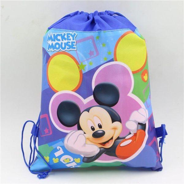 1pc lot Minnie Cadeau Sacs Mickey Enfants Favors Baby Shower Non Tisse Tissu Cordon Sac A 1aef20a4 1856 4121 8250 f6ddf266c751 Sac À Dos Mickey Mouse (6 Illustrations) - Livraison Gratuite !
