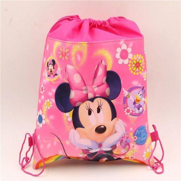 1pc lot Minnie Cadeau Sacs Mickey Enfants Favors Baby Shower Non Tisse Tissu Cordon Sac A 2 3b3ffb8e 0c2a 454e a62a abc84cc1e055 Sac À Dos Mickey Mouse (6 Illustrations) - Livraison Gratuite !