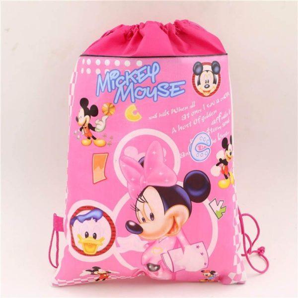 1pc lot Minnie Cadeau Sacs Mickey Enfants Favors Baby Shower Non Tisse Tissu Cordon Sac A 3 6bf8beca a7d6 49d2 89a4 378c781f1411 Sac À Dos Mickey Mouse (6 Illustrations) - Livraison Gratuite !