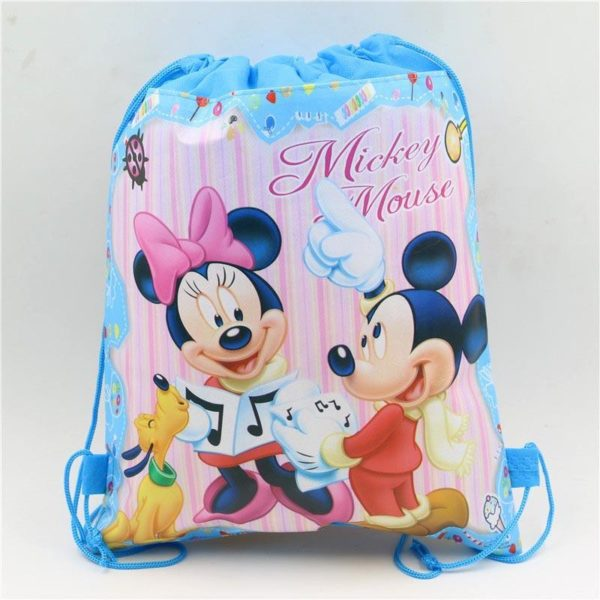 1pc lot Minnie Cadeau Sacs Mickey Enfants Favors Baby Shower Non Tisse Tissu Cordon Sac A 4 202762ee 7b91 481c ac4d b798067a19a0 Sac À Dos Mickey Mouse (6 Illustrations) - Livraison Gratuite !