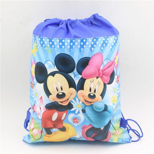 1pc lot Minnie Cadeau Sacs Mickey Enfants Favors Baby Shower Non Tisse Tissu Cordon Sac A 5 7ab82833 0d8b 4414 a21a 6cd43cf58ff7 Sac À Dos Mickey Mouse (6 Illustrations) - Livraison Gratuite !