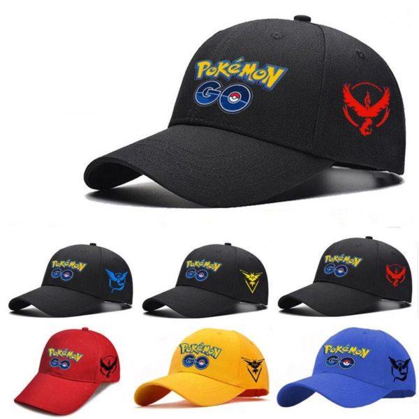 2016 Adjustable Casquette De Baseball Cosplay Team Pokémon Go - Livraison Gratuite !