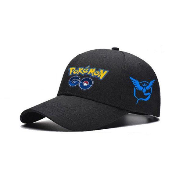 2016 Adjustable Cosplay Mobile game Pokemon Go Valor Team Mystic Team Instinct baseball Black Cap hat 2c9b7b4f da2d 468e 854f eb039d6f1ed0 Casquette De Baseball Cosplay Team Pokémon Go - Livraison Gratuite !