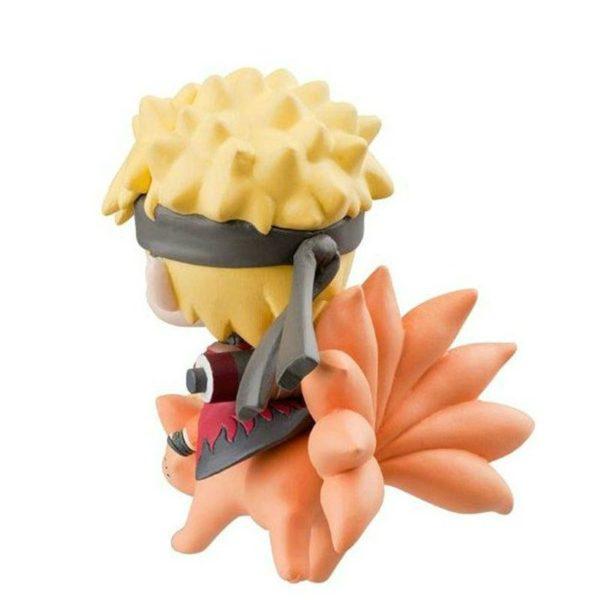 2016 Funko POP Naruto Avec Neuf Renard Montage Kyuubi Action Figures Mod egrave 1 Mini Figurine Naruto Uzumaki Sur Kyuubi - Livraison Gratuite !