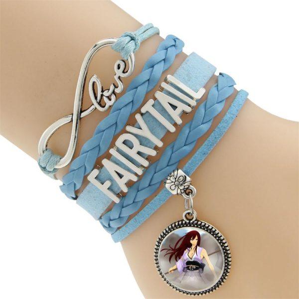 2016 Multicouche Tresse Bracelets Fairy Tail Charme Bracelet Tisse Bracelet En Cuir et Bracelet 13e7b8c0 47f4 4861 bcda 45f207dc8158 Bracelet Fairy Tail Multi-Rangs En Cuir Avec Pendentif (6 Motifs) - Livraison Gratuite !