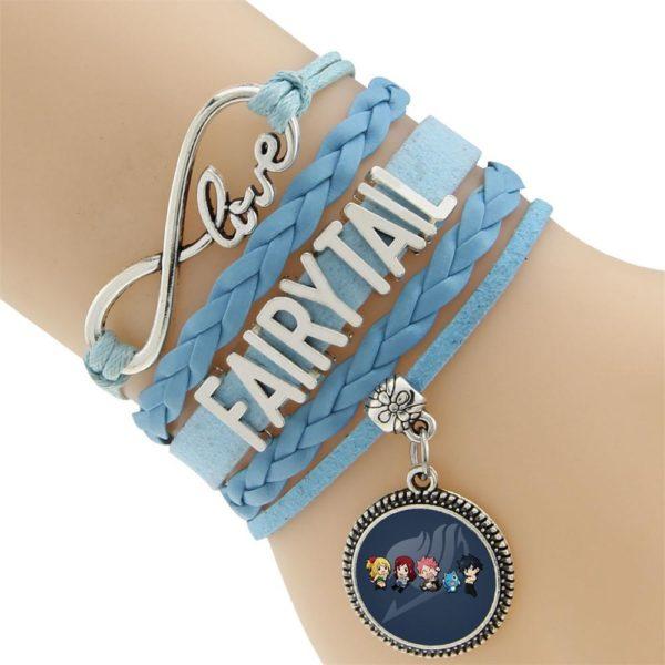 2016 Multicouche Tresse Bracelets Fairy Tail Charme Bracelet Tisse Bracelet En Cuir et Bracelet 1 a0812248 c1a2 48f6 b380 a4ea8da56ece Bracelet Fairy Tail Multi-Rangs En Cuir Avec Pendentif (6 Motifs) - Livraison Gratuite !