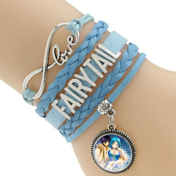 2016 Multicouche Tresse Bracelets Fairy Tail Charme Bracelet Tisse Bracelet En Cuir et Bracelet 2 aa8e991a 0bc7 444e 81a6 d69c739dbf14 Bracelet Fairy Tail Multi-Rangs En Cuir Avec Pendentif (6 Motifs) - Livraison Gratuite !